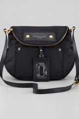 Marc By Marc Jacobs Preppy Nylon Natasha Bag Black - Lyst