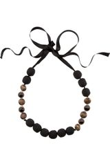 Marni Swarovskiembellished Bead Necklace - Lyst