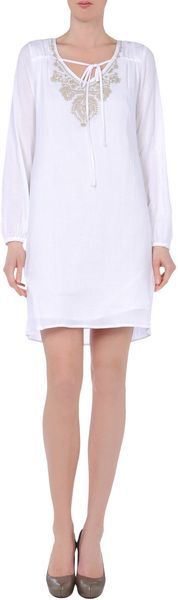 Michael by Michael Kors Short Dress - Lyst
