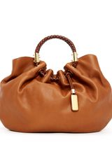 Michael Kors Skorpios Textured Leather Ring Tote Bag - Lyst