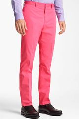 PS by Paul Smith Slim Tapered Leg Trousers - Lyst