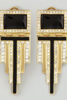 Rachel Zoe Deco Drop Earrings - Lyst