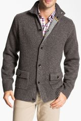 Robert Talbott Wool Cashmere Button Cardigan - Lyst