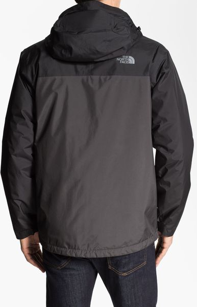 the north face mountain light triclimate 3in1 jacket in gray for men. Black Bedroom Furniture Sets. Home Design Ideas