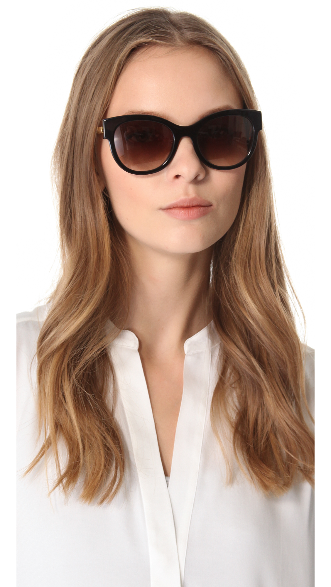 bd60b5166a Thierry Lasry Angely Sunglasses - Dark Brown in Brown - Lyst