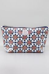 Tory Burch Floralprinted Cosmetic Case - Lyst