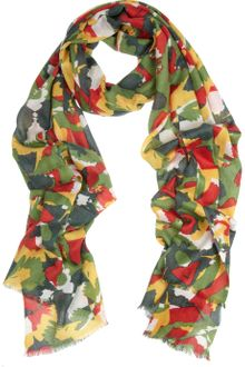 We Are Owls Kaleidoscope Printed Cashmere and Silkblend Scarf - Lyst