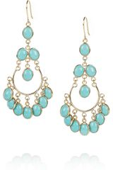 Isharya Gypsy 18karat Goldplated Enameled Earrings - Lyst