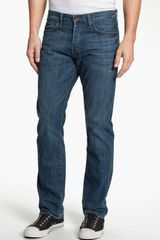 Lucky Brand 121 Heritage Slim Straight Leg Jeans Ol Vicksburg in Blue for Men (ol vicksburg wash) - Lyst
