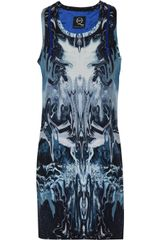 McQ by Alexander McQueen Printed Stretchsilk Dress