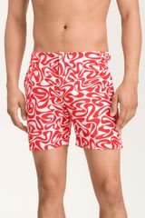 Orlebar Brown Bulldog Print Swim Trunks - Lyst