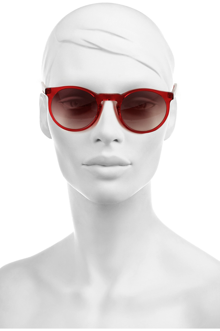 71ac47a81f Lyst - Selima Optique Andy Round frame Acetate Sunglasses in Red