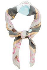 Snobby Sheep Silk Scarf - Lyst