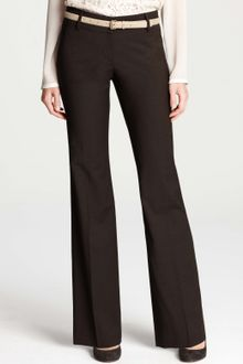 Ann Taylor Modern Tropical Wool Trousers - Lyst