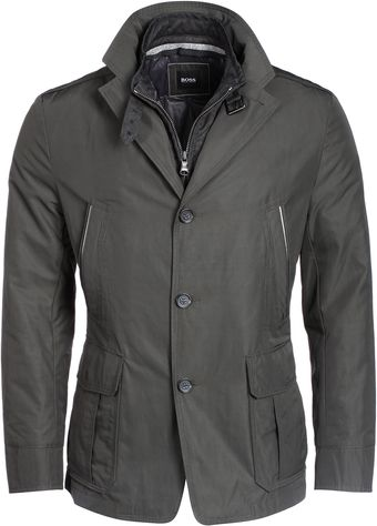Hugo Boss Jacket Dark Grey - Lyst
