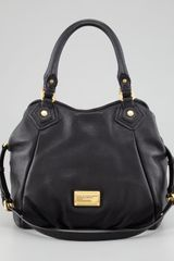 Marc By Marc Jacobs Classic Q Fran Hobo Bag Black - Lyst