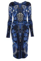 Temperley London Charm Intarsia Dress