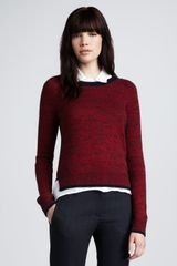 Theory Marbled Sweater - Lyst