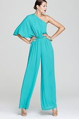 BCBGMAXAZRIA Jumpsuit One Shoulder - Lyst