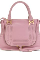 Chloé Marcie Medium Leather Handbag - Lyst