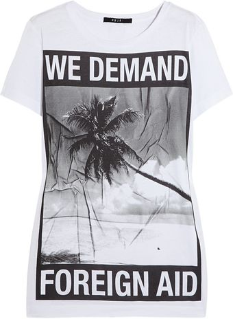 Ksubi Printed Cotton Tshirt - Lyst