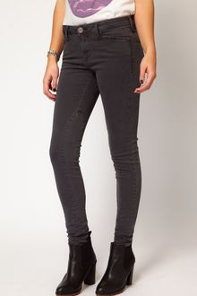 River Island Erin Coloured Skinny Jean - Lyst