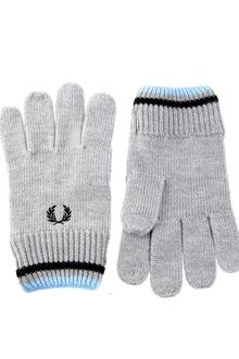 Fred Perry Tipped Gloves - Lyst