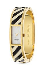 Kate Spade Stripe Carousel Bangle Watch 16mm - Lyst
