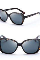 Kate Spade Brenna Oversized Polarized Sunglasses - Lyst