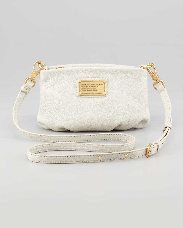 b079168a76 Marc By Marc Jacobs - Natural Classic Q Percy Crossbody Bag Cream - Lyst