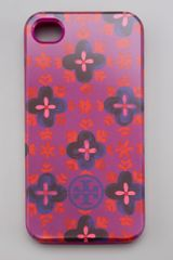 Tory Burch Sintra Soft Iphone 4 Case - Lyst