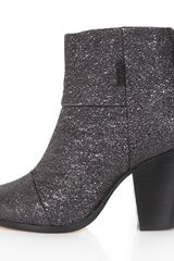 Rag & Bone Classic Newbury Boot in Gunmetal Crinkle in Gray (gunmetal) - Lyst