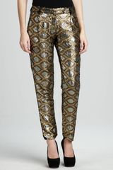 Dallin Chase Sequinpattern Pants - Lyst