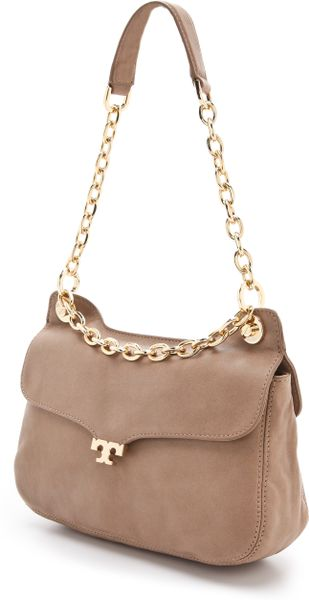 Tory Burch Megan Shoulder Bag Taupe 75