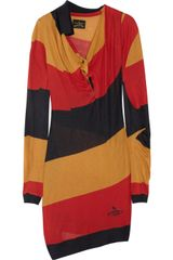 Vivienne Westwood Anglomania Cameo Striped Finejersey Dress