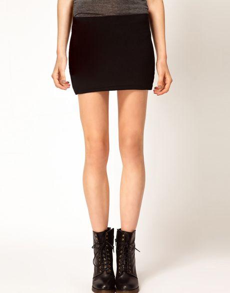 Black Micro Mini Skirt 89