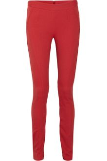 Donna Karan New York Highrise Stretchtwill Skinny Pants - Lyst