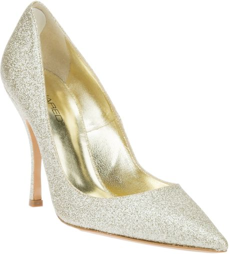 Dsquared2 Stiletto Pump in White - Lyst