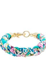 J.Crew Liberty Crystal Braid Bracelet