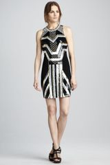 Mark + James By Badgley Mischka Sequin-pattern Cocktail Dress - Lyst
