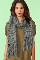 Nasty Gal Williamsburg Fringe Scarf - Lyst