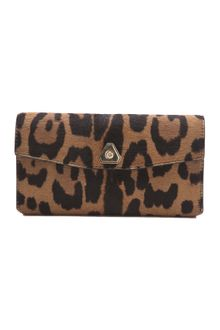 Alexander Wang Trigone Haircalf Long Wallet - Lyst