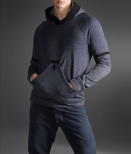 Armani Jeans Crewneck Sweater in Gray (slate blue) - Lyst