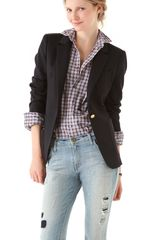 Boy by Band Of Outsiders Bucket Pocket Blazer - Lyst