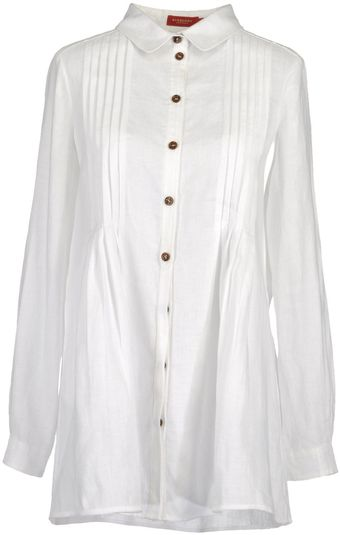 Burberry Long Sleeve Shirt - Lyst