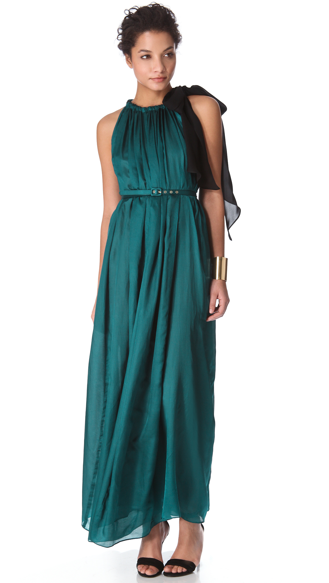 teal maxi dress - Gowns and Dress Ideas