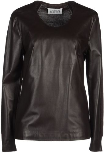 Maison Martin Margiela Long Sleeve Jumper - Lyst