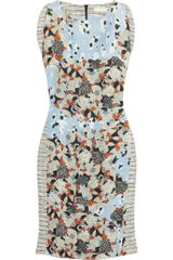 Michael Van Der Ham Floralprint Cotton and Linenblend Dress - Lyst