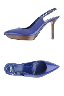 Moschino Cheap & Chic Slingbacks - Lyst