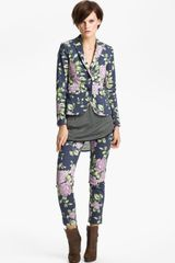 Rag & Bone Bailey Floral Print Jacket - Lyst